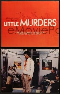 3k016 LITTLE MURDERS 9 color 11x14 stills 1970 written by Jules Feiffer, directed by Alan Arkin!