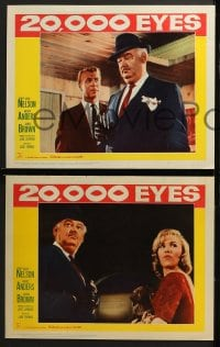 3k022 20,000 EYES 8 LCs 1961 they could not see the perfect crime, cool art!