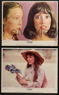 3k023 3 WOMEN 8 LCs 1977 directed by Robert Altman, Shelley Duvall, Sissy Spacek, Janice Rule!