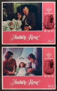 3k042 AUDREY ROSE 8 LCs 1977 Susan Swift, Anthony Hopkins, a haunting vision of reincarnation!