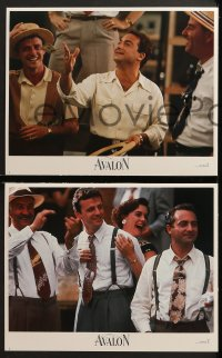 3k044 AVALON 8 LCs 1990 Armin Mueller-Stahl & Elizabeth Perkins, directed by Barry Levinson!