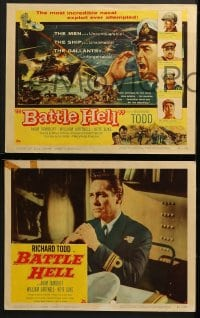 3k050 BATTLE HELL 8 LCs 1957 Yangtse Incident, Richard Todd, Akim Tamiroff!