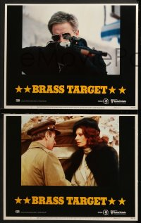 3k070 BRASS TARGET 8 LCs 1978 Sophia Loren, George Kennedy & Max Von Sydow search for Nazi gold!