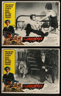3k080 BULLET FOR PRETTY BOY 8 LCs 1970 AIP noir, Fabian as gangster Pretty Boy Floyd!