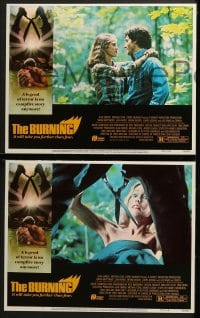 3k082 BURNING 8 LCs 1981 a legend of terror is no campfire story anymore, great images!