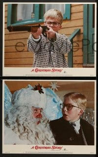 3k531 CHRISTMAS STORY 6 LCs 1983 wonderful images from the best classic Christmas movie ever!