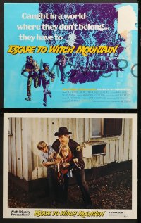 3k015 ESCAPE TO WITCH MOUNTAIN 9 LCs 1975 Disney, Eddie Albert, Ray Milland, Donald Pleasance!