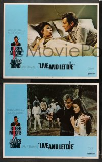 3k270 LIVE & LET DIE 8 East Hemi LCs 1973 Roger Moore as James Bond, Jane Seymour, Yaphet Kotto!