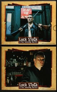 3k272 LOCK, STOCK & TWO SMOKING BARRELS 8 LCs 1998 Guy Ritchie, Vinnie Jones, Sting, Jason Statham!