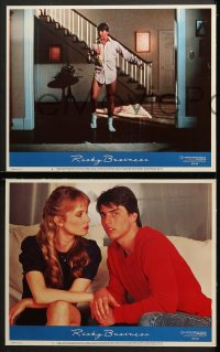 3k359 RISKY BUSINESS 8 LCs 1983 classic Tom Cruise & sexy prostitute Rebecca De Mornay!