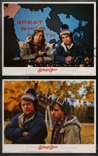 3k421 STRANGE BREW 8 LCs 1983 hosers Rick Moranis & Dave Thomas with lots of beer, screwball comedy!