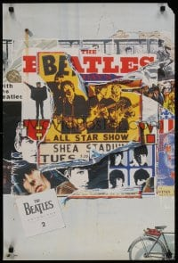 3r073 BEATLES 20x30 music poster 1996 images of George, Paul, Ringo and John, Anthology 2!