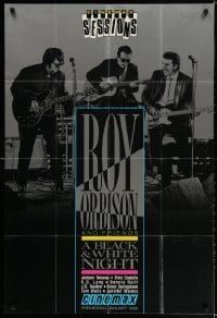 3r055 ROY ORBISON & FRIENDS tv poster 1988 group portrait w/Bruce Springsteen & Elvis Costello!