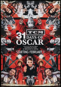 3r056 TCM 31 DAYS OF OSCAR tv poster 2010 Gladiator, Breakfast at Tiffany's, Cool Hand Luke, more!