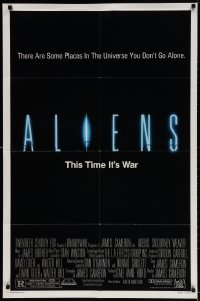 3t028 ALIENS 1sh 1986 there are some places in the universe you don't go alone, this time it's war!