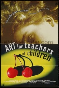 3t051 ART FOR TEACHERS OF CHILDREN 1sh 1995 Jennifer Montgomery directed, cherries!