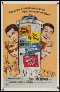 3t052 ART OF LOVE 1sh 1965 Dick Van Dyke, Elke Sommer, James Garner, Angie Dickinson