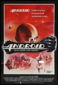 3t039 ANDROID English 1sh 1982 Klaus Kinski, Norbert Weisser, Ernster art!