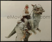 3z051 EMPIRE STRIKES BACK 4 color 16x20 stills 1980 Darth Vader, Luke riding Tauntaun & more!