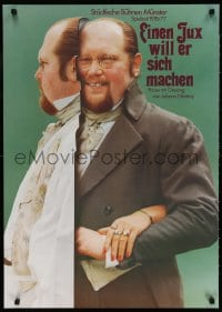 3z146 EINEN JUX WILL ER SICH MACHEN 24x33 German stage poster 1976 man wants to make a joke!