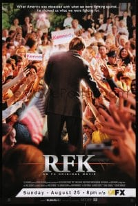 3z128 RFK tv poster 2002 Linus Roache as Robert F. Kennedy, he showed us what we are fighting for!