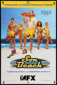 3z130 SON OF THE BEACH tv poster 2000 Timothy Stack, Jaime Bergman, Roland Kickinger, Arcieri!