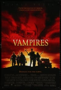 3z966 VAMPIRES 1sh 1998 John Carpenter, James Woods, cool vampire hunter image!