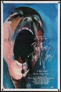 3z972 WALL int'l 1sh 1982 Pink Floyd, Roger Waters, classic Gerald Scarfe rock & roll art!