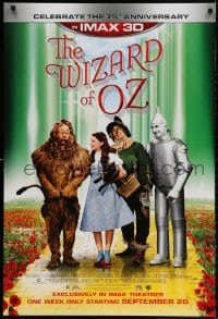 3z980 WIZARD OF OZ advance DS 1sh R2013 Victor Fleming, Judy Garland all-time classic, rated G!
