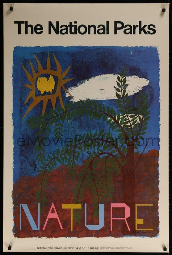 Ben Shahn-National Parks Nature-1974 Poster