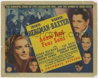 4a003 ADAM HAD FOUR SONS TC 1941 Ingrid Bergman, Warner Baxter, Susan Hayward, Fay Wray