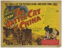 4a012 BATTLE CRY OF CHINA TC 1941 Japanese vs China in World War II, thrills of 10 pictures in 1!