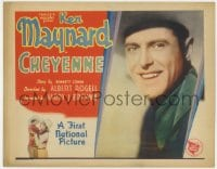 4a024 CHEYENNE TC 1929 great smiling portrait of cowboy Ken Maynard, ultra rare!