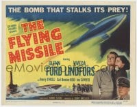 4a037 FLYING MISSILE TC 1951 Glenn Ford, Viveca Lindfors, smart bomb that stalks its prey!