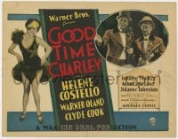 4a043 GOOD TIME CHARLEY TC 1927 sexy Helene Costello, written by Darryl F. Zanuck, Michael Curtiz