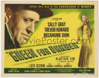 4a045 GREEN FOR DANGER TC 1947 follow Alastair Sim in the footsteps of MURDER, sexy Sally Gray!