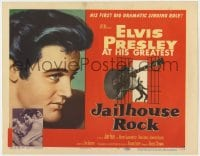 4a054 JAILHOUSE ROCK TC 1957 Elvis Presley in his first dramatic singing role, rock & roll classic!