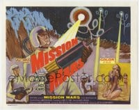4a074 MISSION MARS TC 1968 Darren McGavin, a fantastic sci-fi adventure into the unknown!