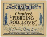 4a132 RADIO DETECTIVE chapter 6 TC 1926 produced with the co-operation of The Boy Scouts of America!