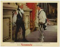 4a796 SCARAMOUCHE photolobby 1952 Stewart Granger corners Mel Ferrer, avenging his friend's death!