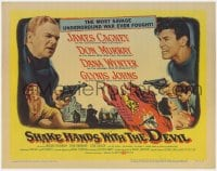 4a146 SHAKE HANDS WITH THE DEVIL TC 1959 James Cagney, Don Murray, Dana Wynter, Glynis Johns!