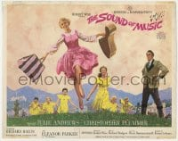 4a157 SOUND OF MUSIC roadshow TC 1965 classic art of Julie Andrews & top cast by Howard Terpning!