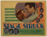 4a161 STAGE STRUCK TC 1936 Busby Berkeley directed, Dick Powell, Joan Blondell & top stars!