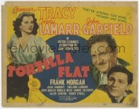 4a174 TORTILLA FLAT TC 1942 Spencer Tracy & John Garfield are strong for wine & sexy Hedy Lamarr!