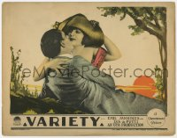 4a948 VARIETY LC 1925 E.A. Dupont classic tale, great close up of Lya de Putti kissing her lover!