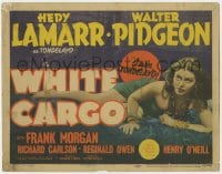 4a183 WHITE CARGO TC 1942 Hedy Lamarr plays the tropical beauty Tondelayo, great full-length image!