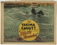 4a184 WHITE THUNDER TC 1925 Yakima Canutt is a coward by day and the White Rider by night!