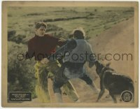 4a981 WOLFHEART'S REVENGE LC 1925 Wolfheart the Dog Wonder assists master Guinn Big Boy Williams!