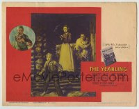 4a187 YEARLING TC 1946 Gregory Peck, Jane Wyman, Claude Jarman Jr. & baby deer, classic!