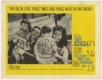 4a992 YESTERDAY, TODAY & TOMORROW LC 1964 Sophia Loren, Marcello Mastroianni, Vittorio De Sica